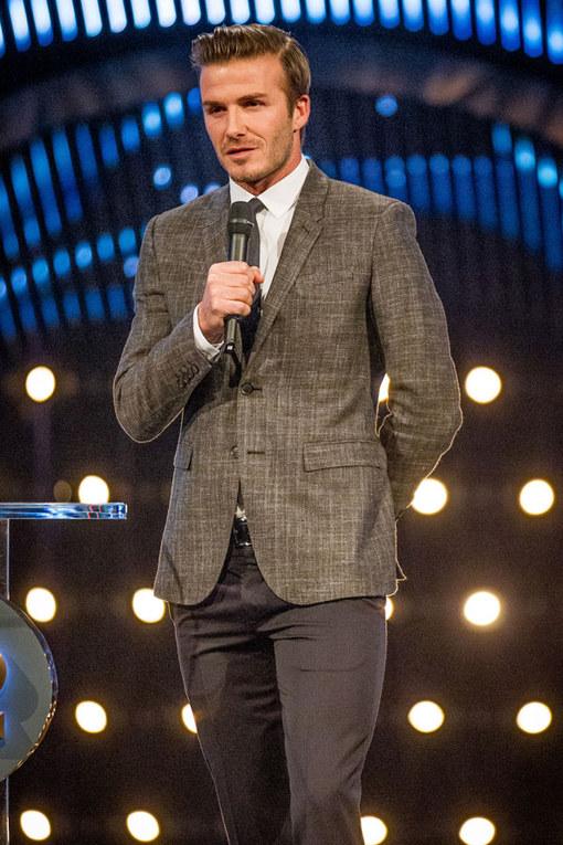 Hot celebrity men: David Beckham