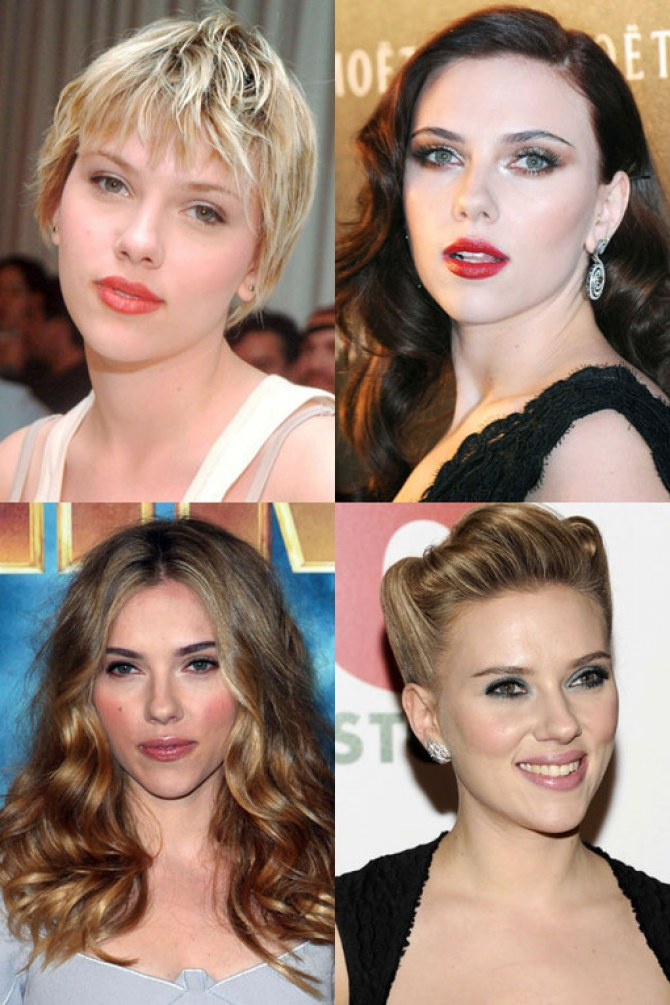 Scarlett Johansson hair: Blonde bombshell alert!