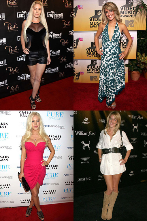 Heidi Montag style: Heidi's fashion history