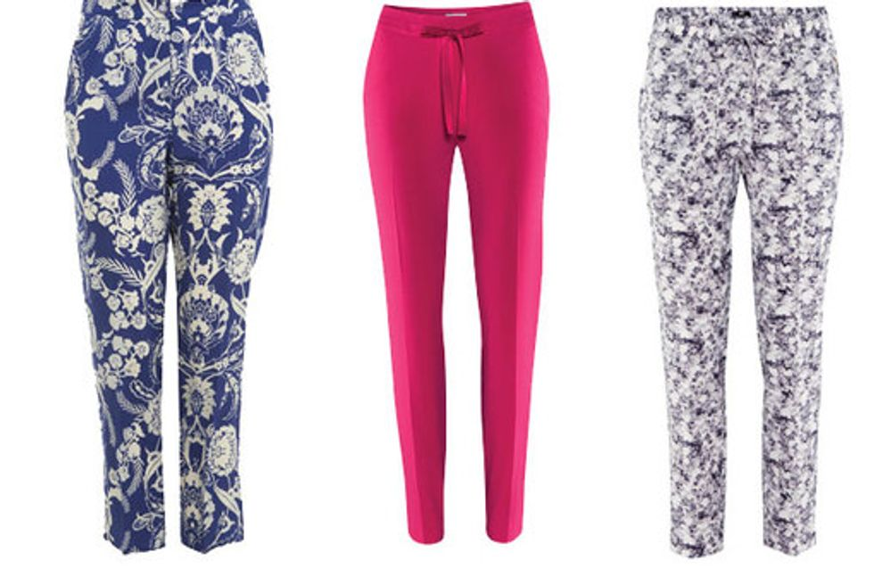 Statement trousers: 30 Trophy trousers