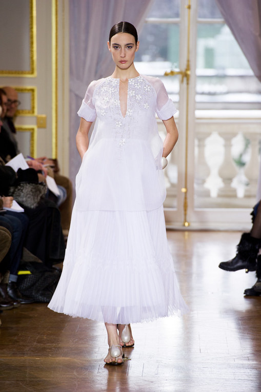 Défilé Christophe Josse Haute Couture Printemps-Eté Paris 2013