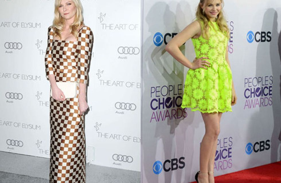 Celebrities wearing SS13 trends: One step ahead