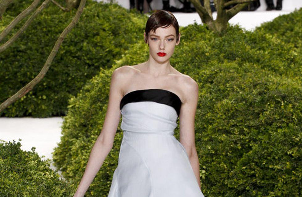 Ein Traum aus Blüten: Dior zeigt Couture-Kollektion in Paris