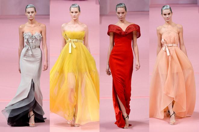 Le sfilate della Haute Couture della primavera 2013 a Parigi - Alexis Mabille/1