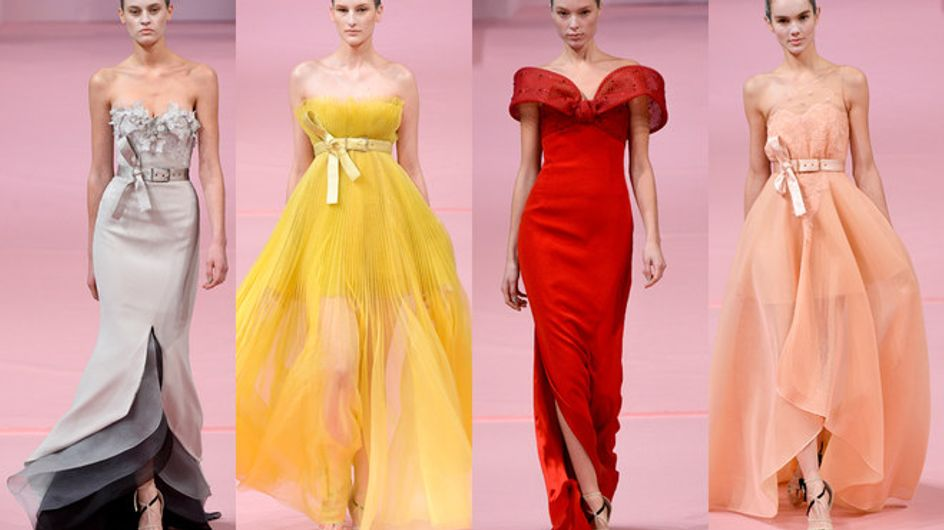 Primavera 2013. L'Haute Couture sfila a Parigi