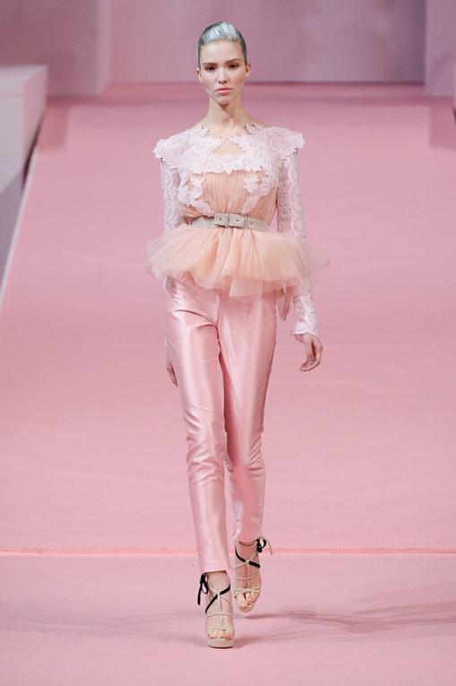 Défilé Alexis Mabille Haute Couture Printemps-Eté Paris 2013