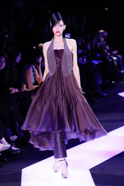 Défilé Giorgio Armani Privé Haute Couture PE 2013
