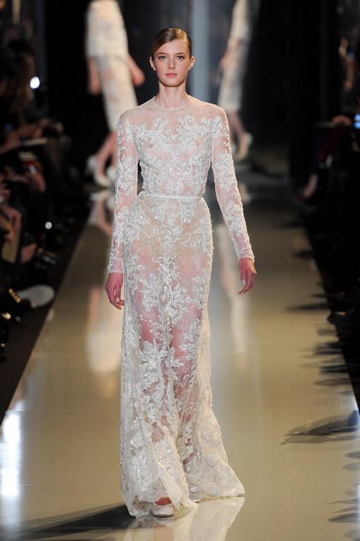 Défilé Elie Saab Haute Couture Printemps-Eté Paris 2013