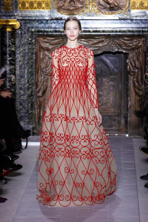 Défilé Valentino Haute Couture Printemps-Eté 2013