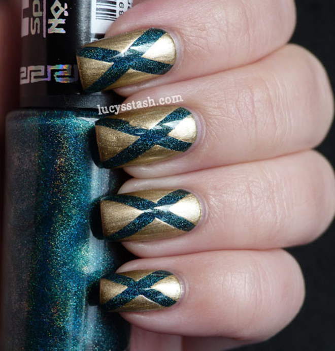 Nail Art - Diagonale