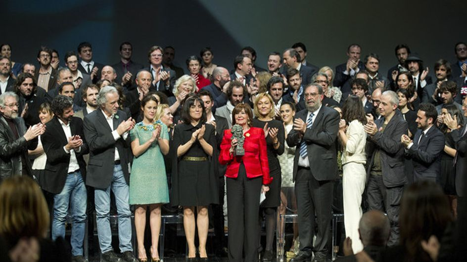 Los nominados a los Goya en la alfombra roja de Madrid