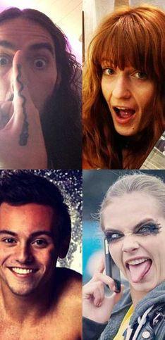 Celebrities on Instagram