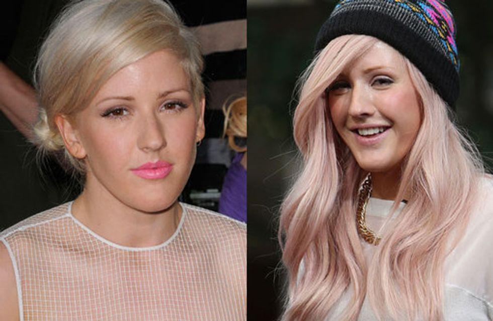 Ellie Goulding Hairstyles & Indie Girl Tresses