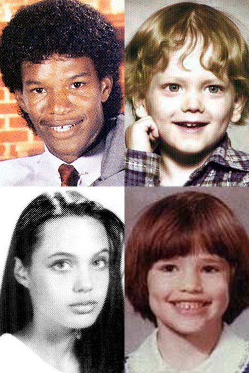 Before they were famous: Celebs when they're young