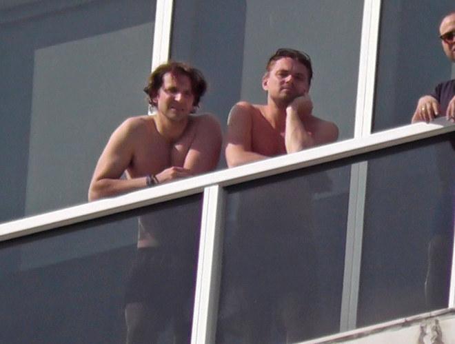 Leo e Bradley a petto nudo a Miami