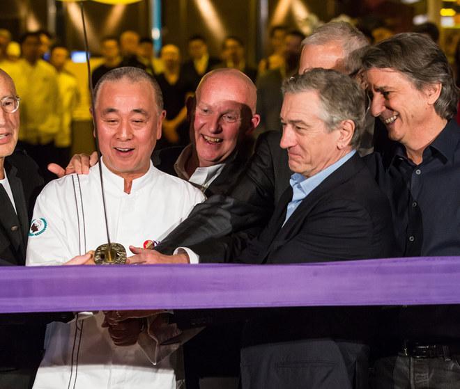 De Niro inaugura il ristorante Nobu a Las Vegas