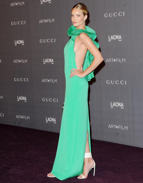 Las celebrities se apuntan al color de moda: ¡verde que te quiero verde!