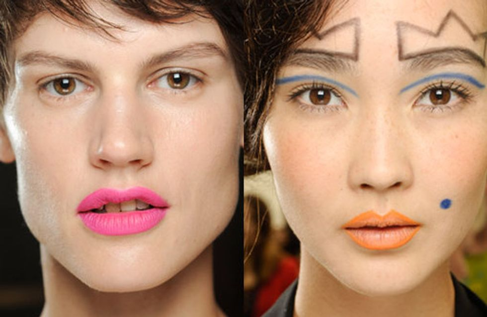Die schönsten Make-up-Trends für Frühjahr & Sommer 2013
