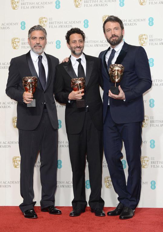 George Clooney, Grant Heslov y Ben Affleck