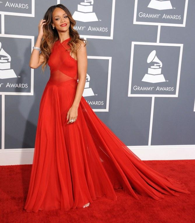 Grammy Awards 2013 : Rihanna
