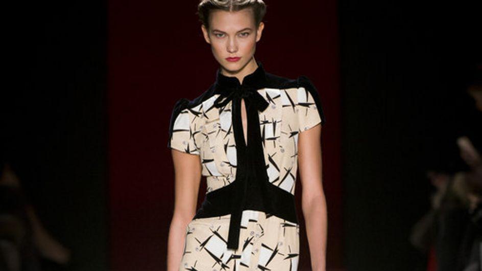 Sfilata Carolina Herrera New York Fashion Week autunno/inverno 2013 2014
