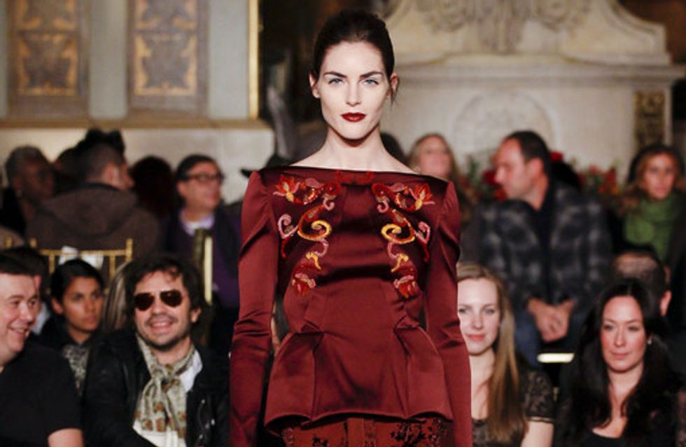 Zac Posen - New York Fashion Week Otoño Invierno 2013-2014