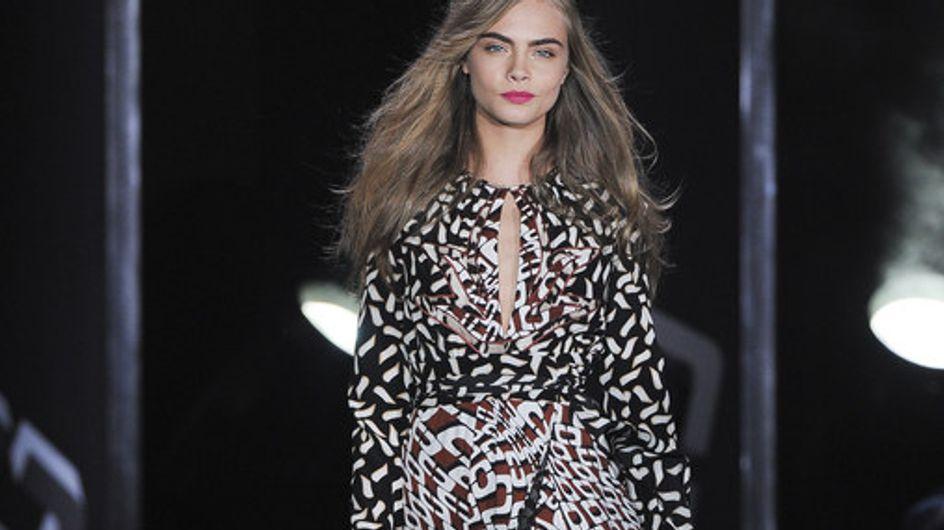 Diane Von Furstenberg New York Fashion Week Autumn Winter 2013-2014