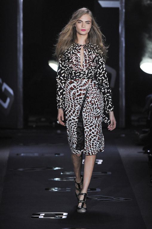 Diane Von Furstenberg New York Fashion Week autunno/inverno 2013 - 2014