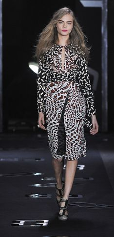 Sfilata Diane Von Furstenberg New York Fashion Week autunno/inverno 2013 2014