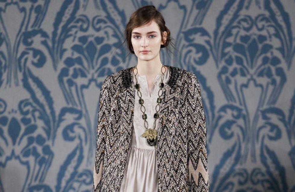 Sfilata Tory Burch New York Fashion Week autunno/ inverno 2013 - 2014
