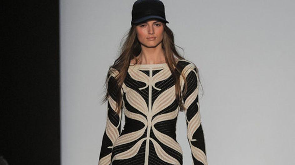 Sfilata Hervé Leger New York Fashion Week autunno/ inverno 2013 - 2014