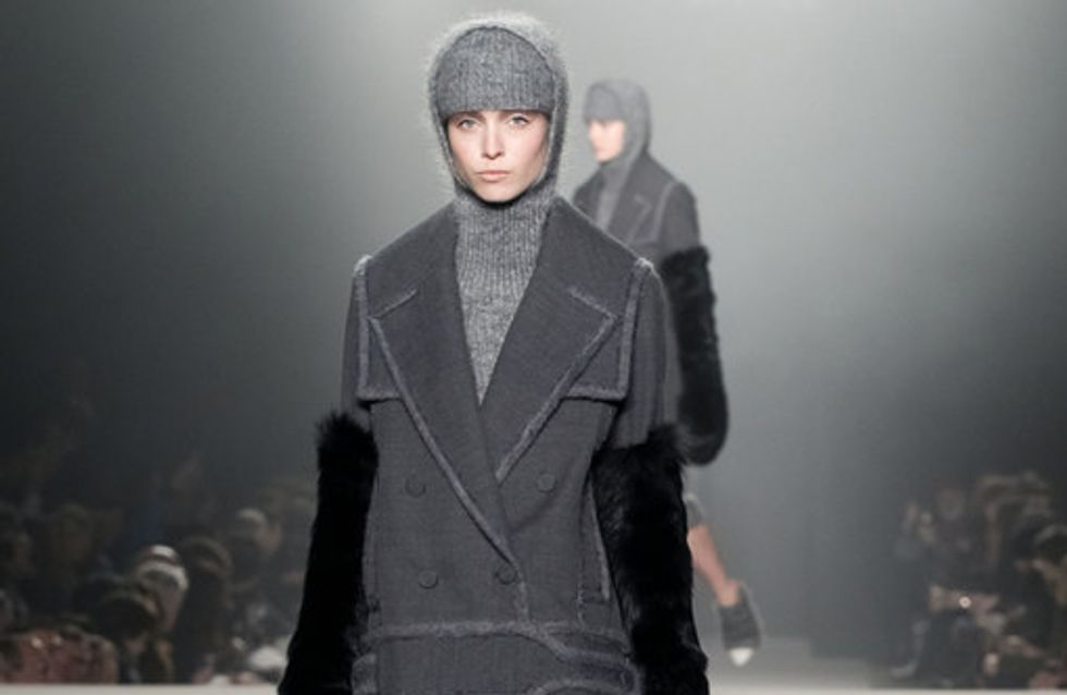 Sfilata Alexander Wang New York Fashion Week autunno/ inverno 2013 - 2014