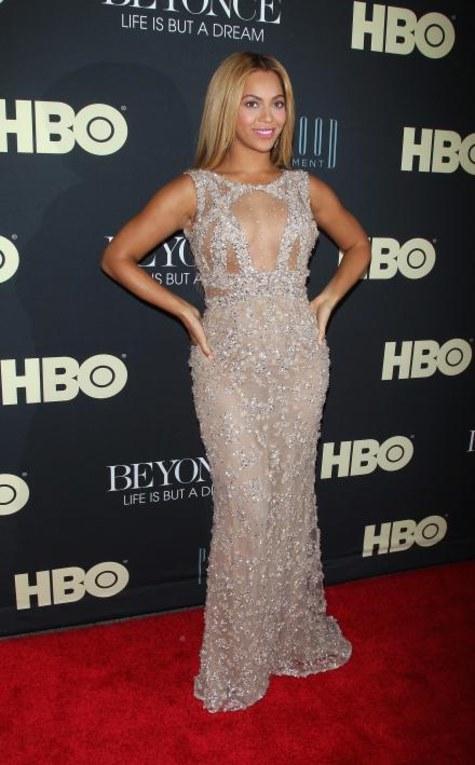 Beyoncé à la première de son documentaire