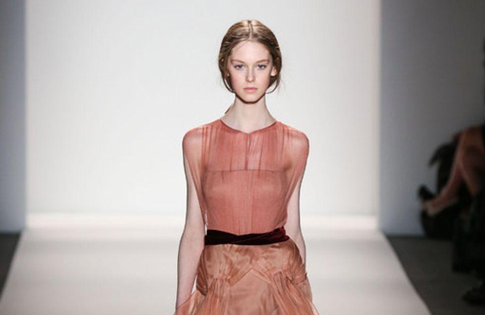 Sfilata Jenny Packham New York Fashion Week autunno/ inverno 2013 - 2014