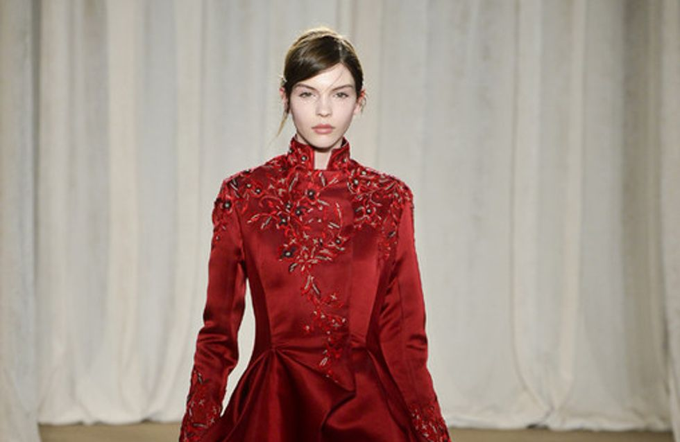 Sfilata Marchesa New York Fashion Week autunno/ inverno 2013 - 2014