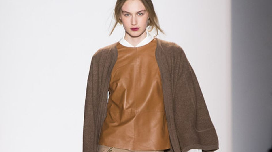 Sfilata Rachel Zoe New York Fashion Week autunno/ inverno 2013 - 2014