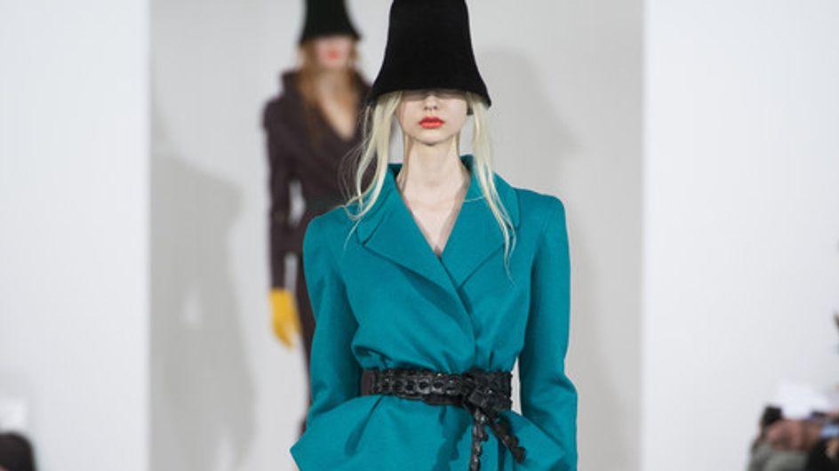 Oscar de la Renta, los volúmenes más maravillosos llegan a New York Fashion Week