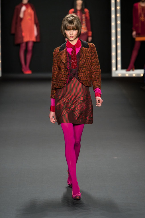 Anna Sui - New York Fashion Week Otoño Invierno 2013-2014