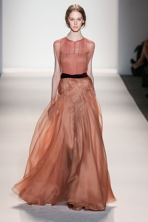 Jenny Packham New York Fashion Week Autumn Winter 2013-2014