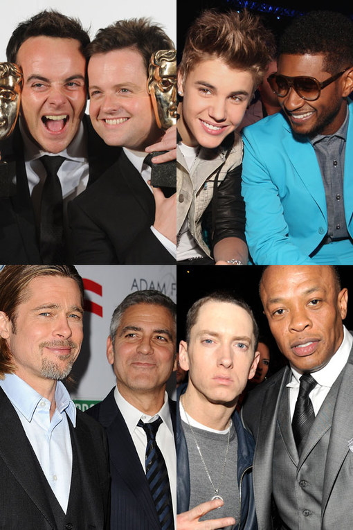 Celebrity best mates: Star-studded bromances