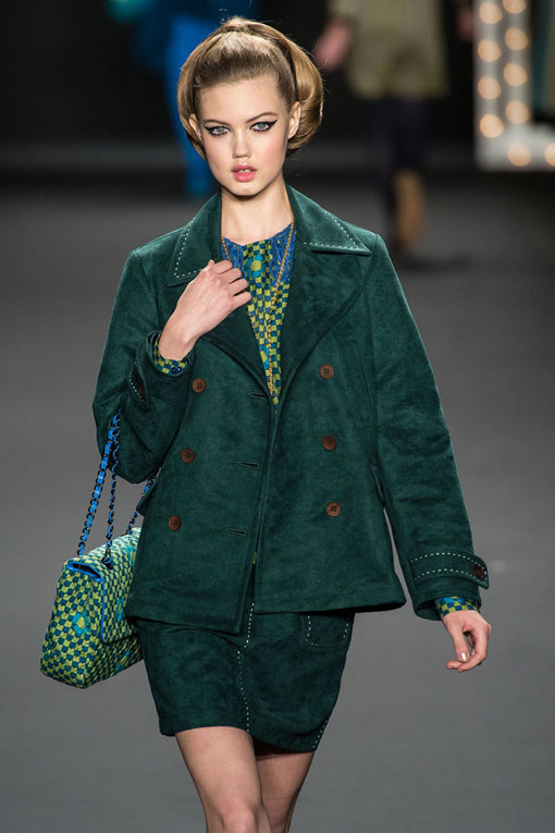 Anna Sui New York Fashion Week Autumn Winter 2013- 2014