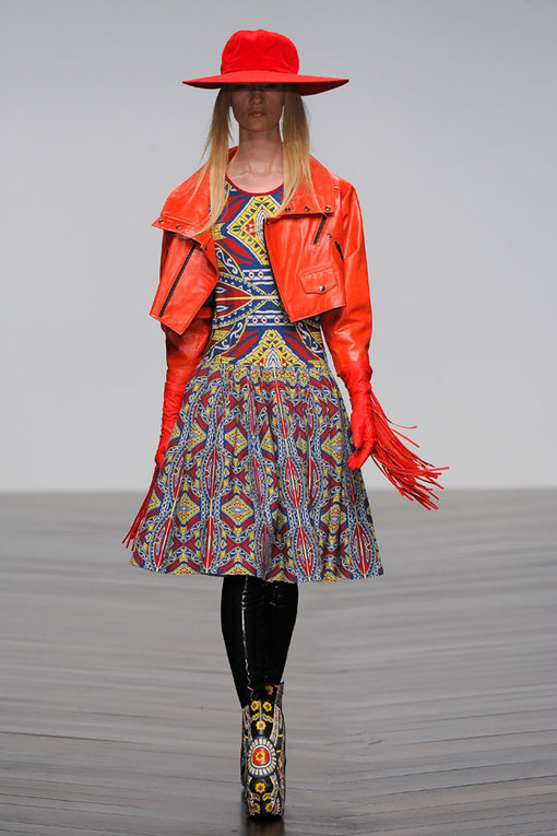 KTZ London Fashion Week Autumn Winter 2013 - 2014