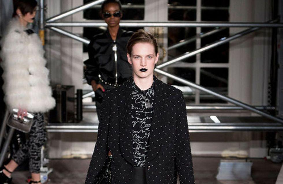 Sfilata Moschino Cheap and Chic London Fashion Week autunno/ inverno 2013 - 2014