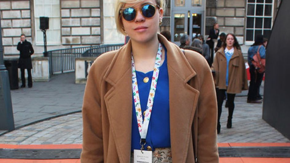 Streetstyle tijdens London Fashion Week Herfst / Winter 2014