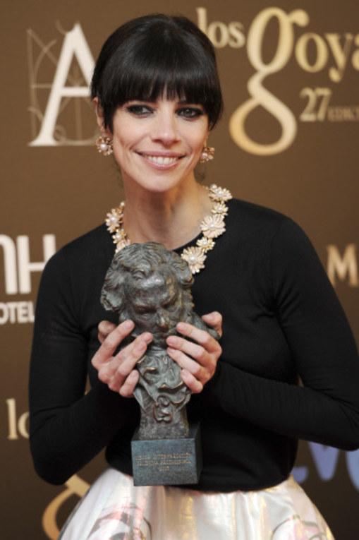 Maribel Verdú, Premio Goya 2013 a la Mejor Actriz Protagonista