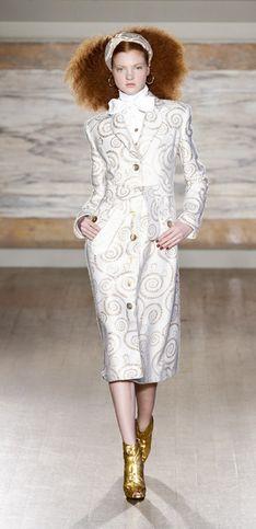 Sfilata L'Wren Scott London Fashion Week autunno/ inverno 2013 - 2014