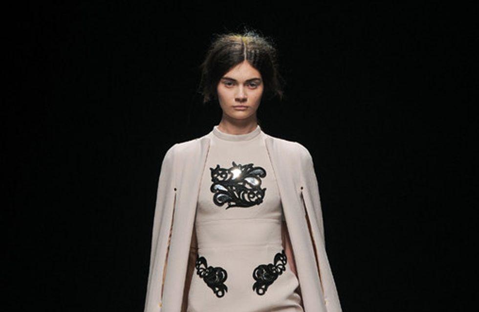 Sfilata Marios Schwab London Fashion Week autunno/ inverno 2013 - 2014