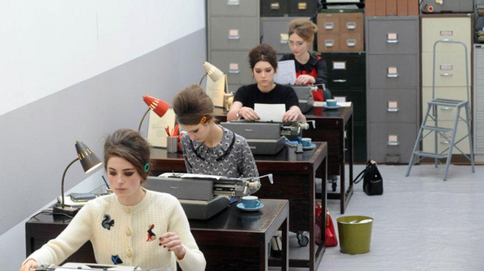 Sfilata Orla Kiely London Fashion Week autunno/ inverno 2013 - 2014