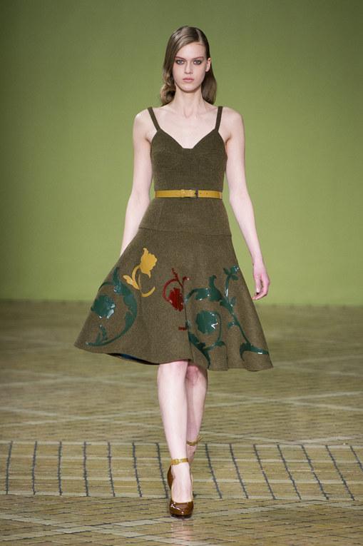 Jonathan Saunders London Fashion Week autunno/ inverno 2013 - 2014