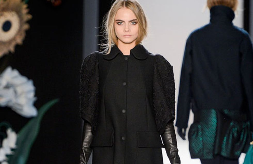 Mulberry London Fashion Week Autumn Winter 2013 - 2014